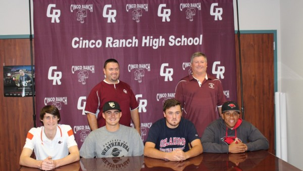 More Early Signings Recognized! - Cinco Ranch Cougars ...