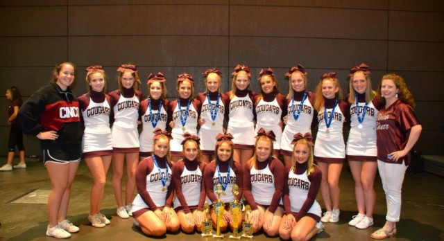 Cinco Ranch HS Cheerleaders Take 1st place!