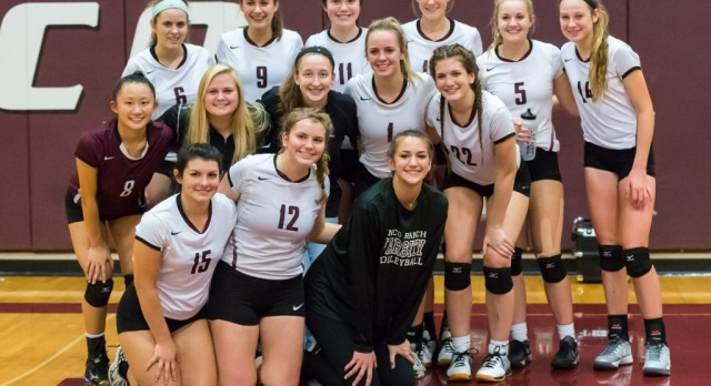 Gallery: Volleyball's big WIN over Katy!