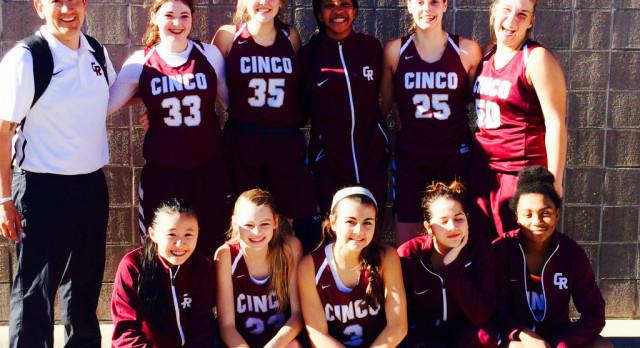 Girls JV Basketball Take 2nd!