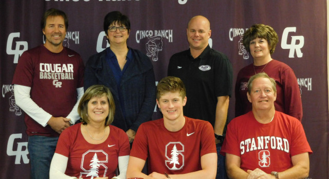 Swimmer Glen Cowand signs with Stanford