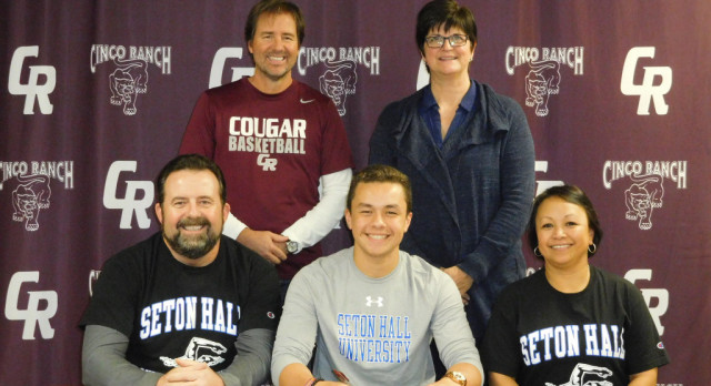 Swimmer Billy Fales signs with Seton Hall