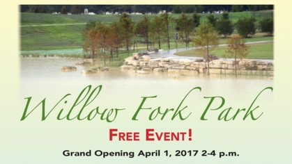 Willow Fork Park – Grand Opening