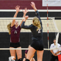 Varsity VB vs George Ranch 22 Aug 17