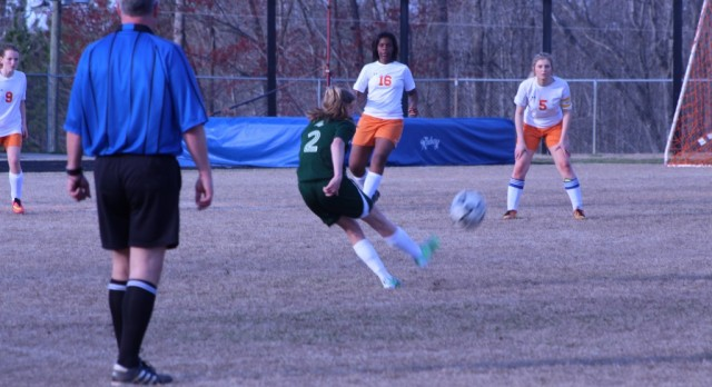 Lady Knights Soccer Kicks It In Gear
