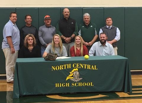 A. Baker Signs to Play Softball at Lincoln Memorial