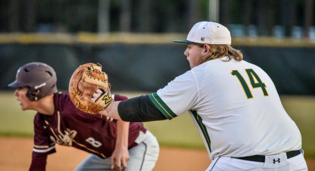 V. Baseball Begins Playoffs at Ninety Six High