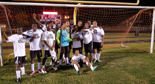 Lower Richland High School Boys Varsity Soccer beat Richland Northeast High School 2-1