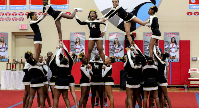 Competitive Cheer Team Qualify for State Championship