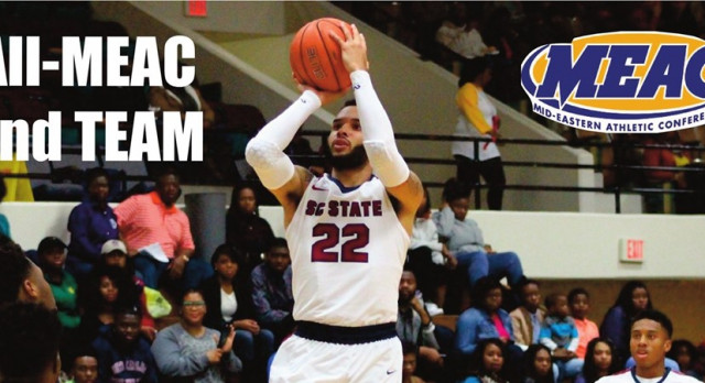 Eric Eaves earns ALL-MEAC Honors