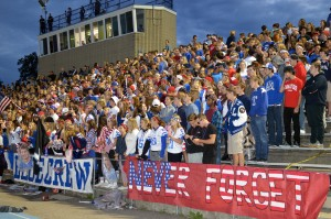 BC-Patriot Day crowd