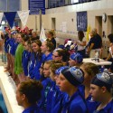 Girls Swim Splash Against Your Class