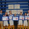 Girls Basketball Senior Night, Feb. 13, 2015