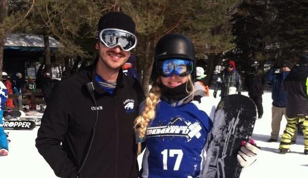 Aubrey Abbott claims State Title in Snowboarding