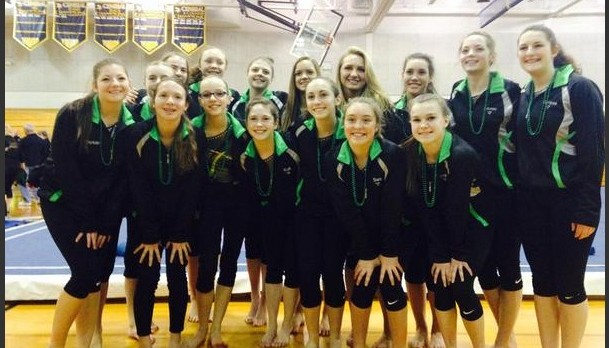 Lakeland-Milford Gymnastics Team qualifies for State Finals