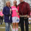Girls Soccer Senior Night 2015