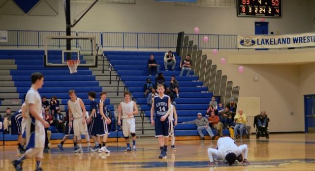 Boys Basketball has rollicking good time on Senior Night
