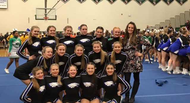 Lakeland High School Girls Varsity Competitive Cheer finishes 1st place