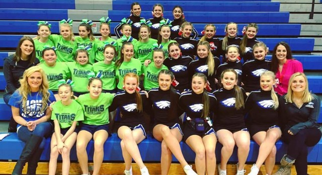 Lakeland High School Girls Varsity Competitive Cheer finishes 3rd place