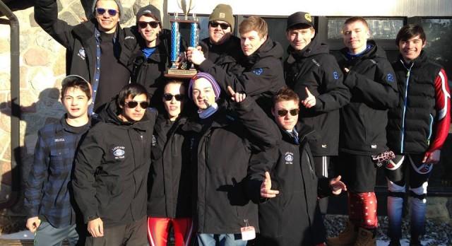 Boys Ski Team wins Regional Championship