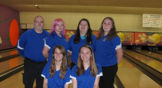 Girls Bowling wins KLAA North Title again