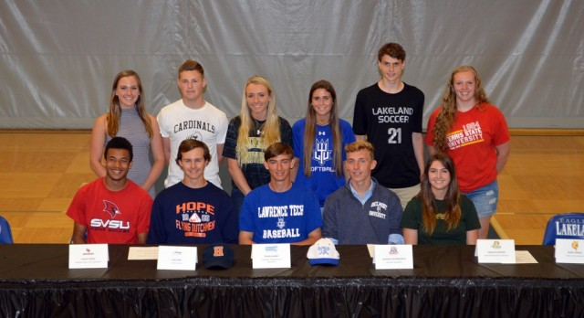 College-bound athletes recognized at ceremony
