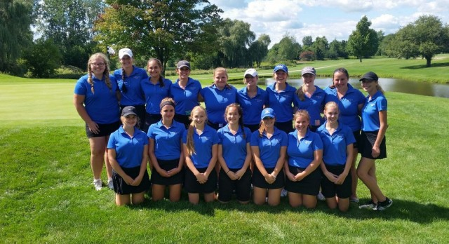Lakeland High School Girls Varsity Golf finishes 10th place