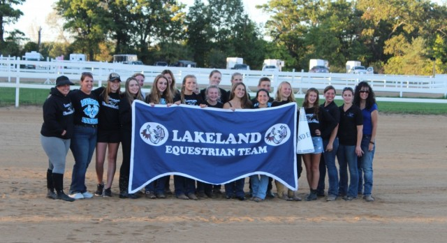Equestrian team claims District Title