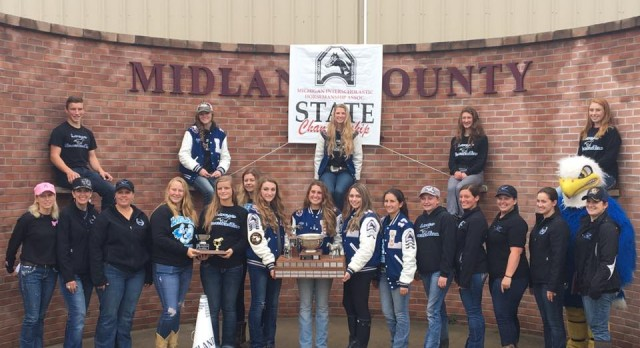 State Champions — Equestrian team brings home the BIG trophy