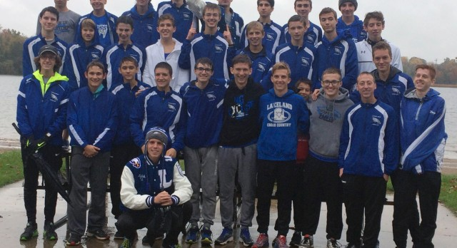 Lakeland High School Boys Varsity Cross Country claims Lakes Conference Championship