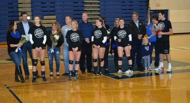 Lakeland High School Girls Varsity Volleyball beat Walled Lake Northern High School 3-1