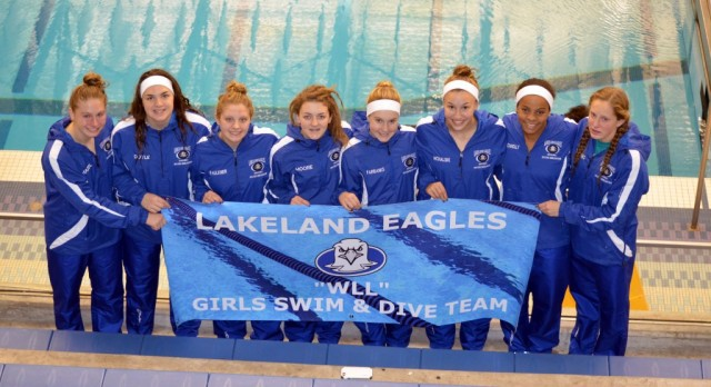 Girls Swim & Dive team finishes 10th at State Meet