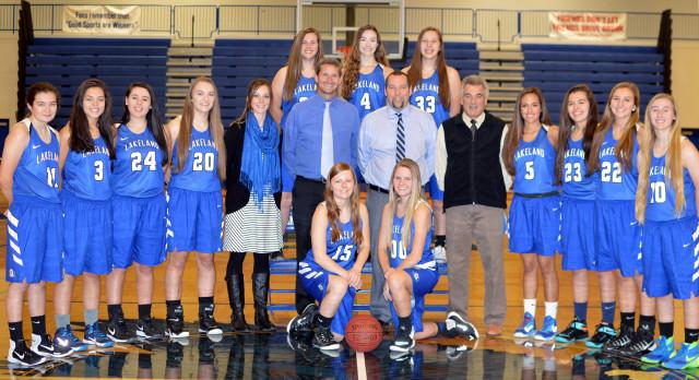 Lakeland High School Girls Varsity Basketball falls to Groves High School 66-41