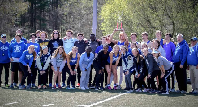 Track teams combine to win Balawadjer Co-Ed Relays