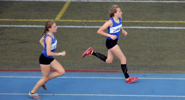 Girls Track team strong in win over Walled Lake Northern