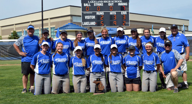 Softball repeats as District Champions