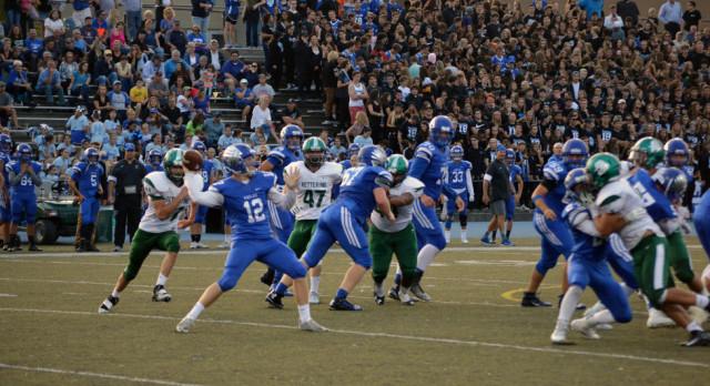 Lakeland High School Varsity Football beat Kettering HS (Waterford) 22-16