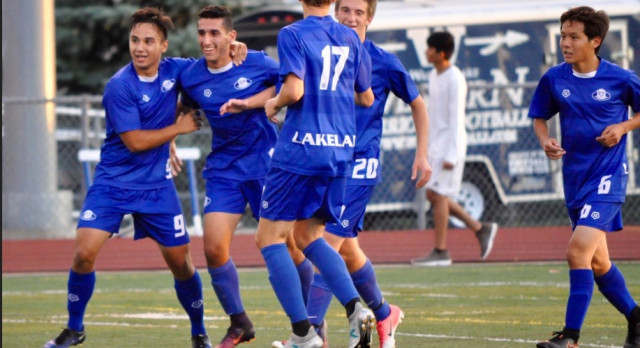 Lakeland High School Boys Varsity Soccer beat Walled Lake Western High School 1-0