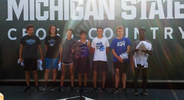 Boys Cross-Country finishes 1st at the prestigious MSU Spartan Invitational