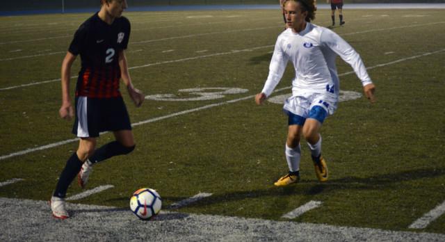 Lakeland High School Boys Varsity Soccer falls to Walled Lake Central High School 2-0