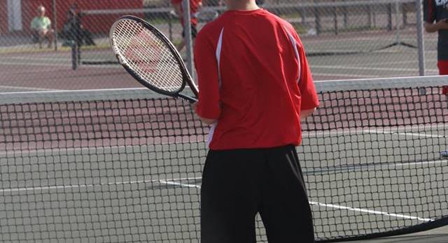 Tennis Drops Match to Frankton