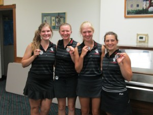Four players make All Conference at Tournament