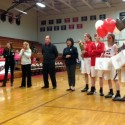 Varsity Girls Basketball Senior Night