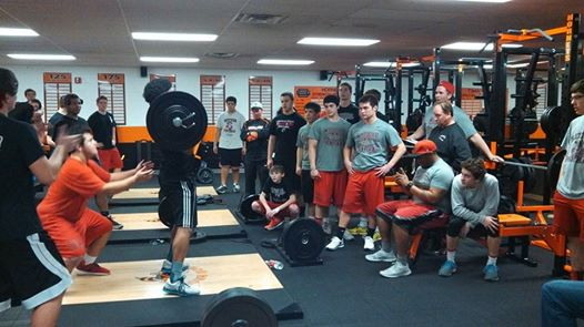 Cardinal Ritter Football Involved In Weightlifting Competition