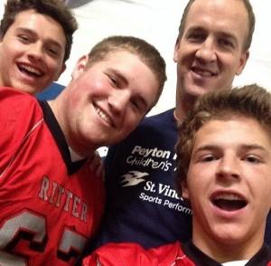 CRHS guys Peyton Manning