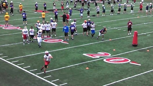 Cardinal Ritter Football Enjoys Cincinnati Camp