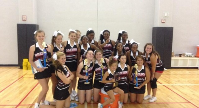 Cheer Team Competes at UCA Camp at Purdue University