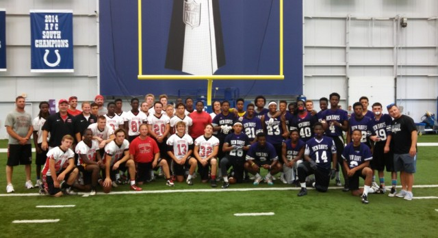 Cardinal Ritter Football Finalist In Colts 7 on 7