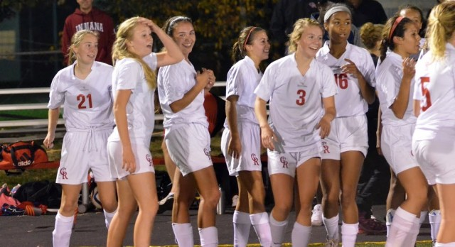 Girls Soccer Wins With A Cascade Of Goals