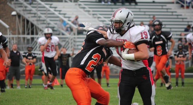JV Football Grinds Out Victory Over Beech Grove